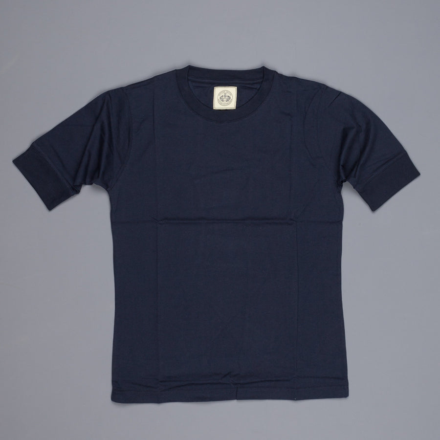 Northsea Clothing Marine crewneck 3/4 sleeve Navy