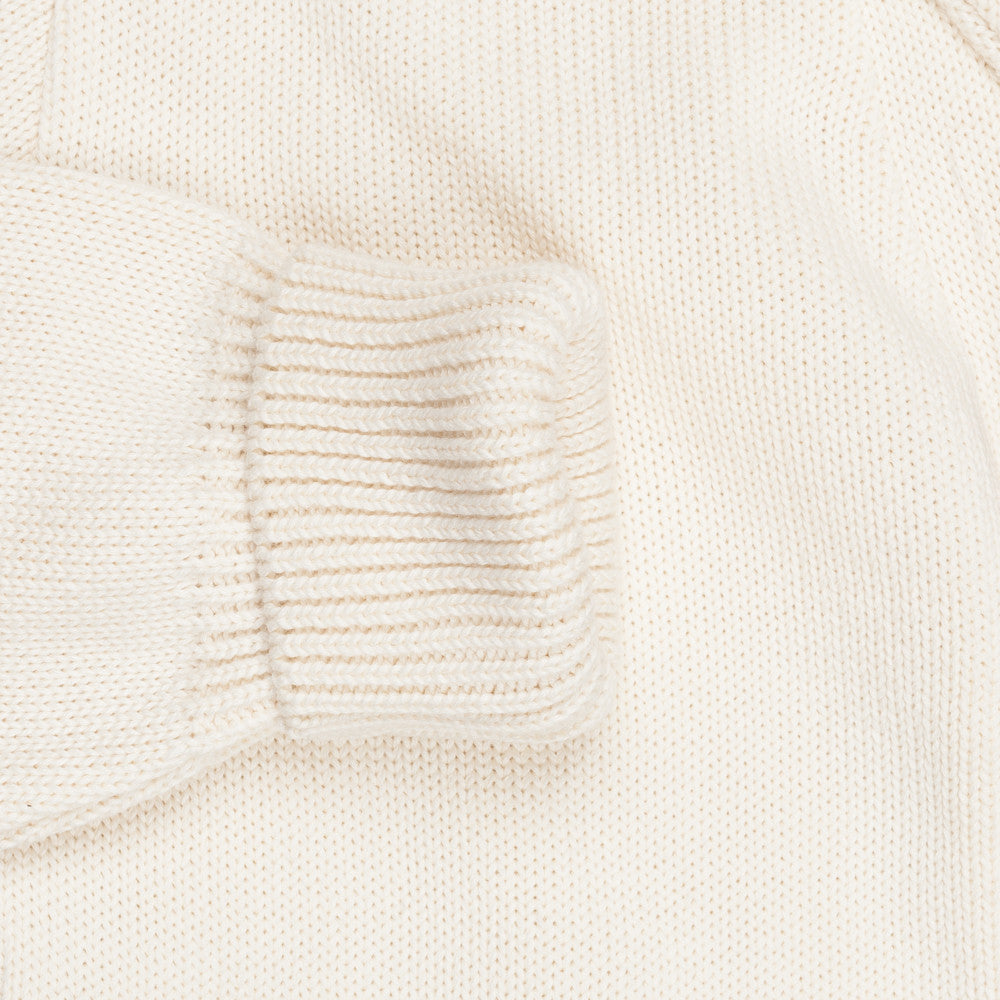 Northsea Clothing Expedition cotton cardigan Ecru