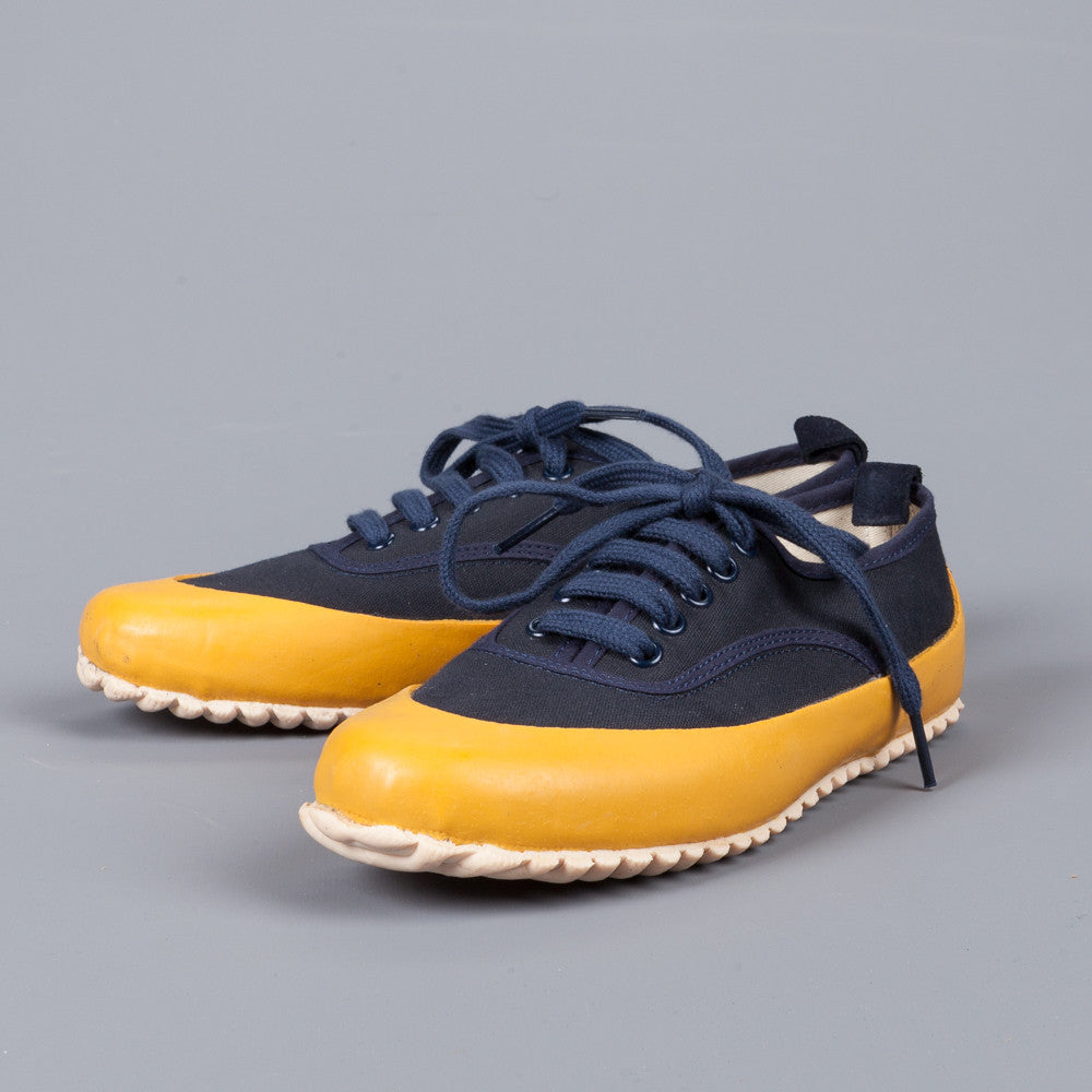 Northsea Clothing deck shoe laced Navy Yellow – Frans ...