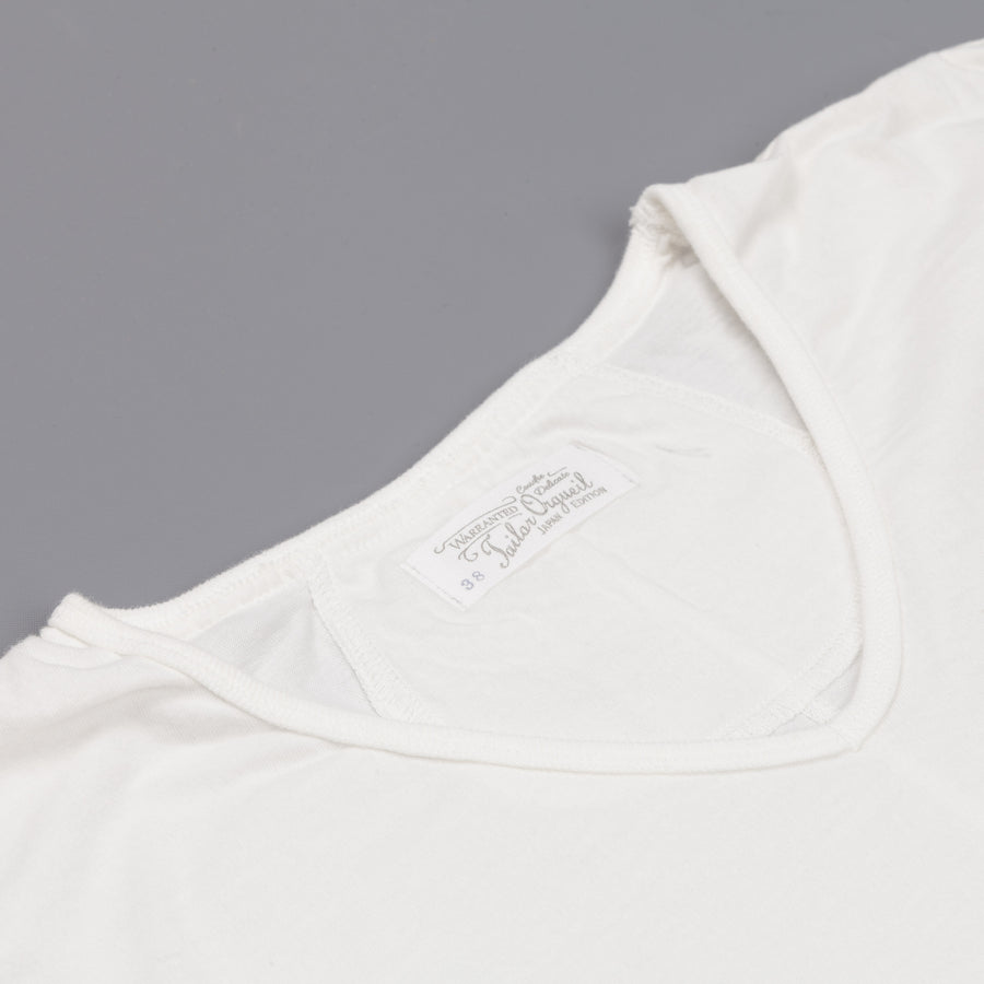 Orgueil 9005 shirt V-Neck White