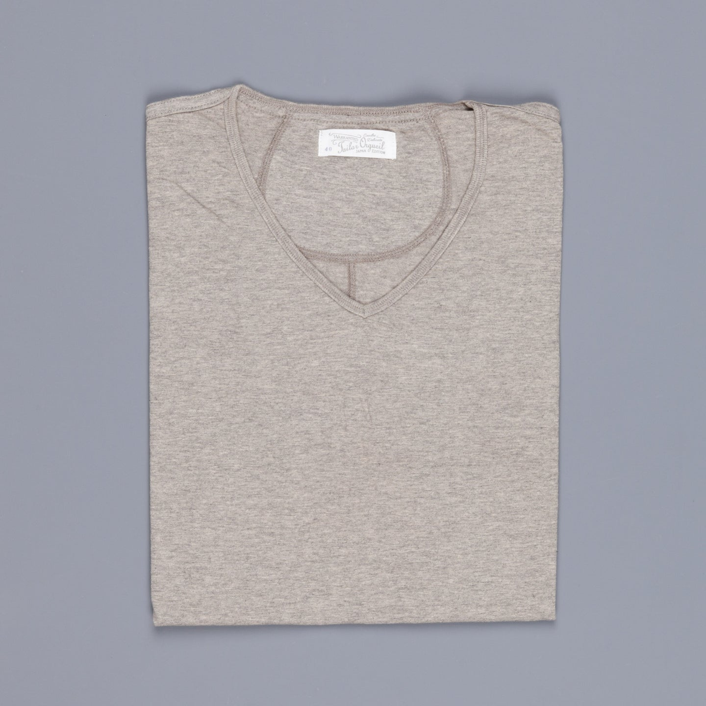 Orgueil 9005 shirt V-Neck Grey
