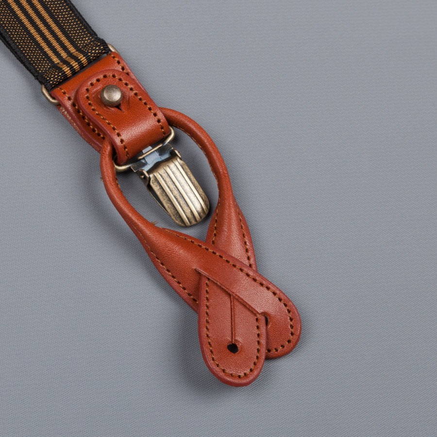 Orgueil Or-7066 suspenders brown