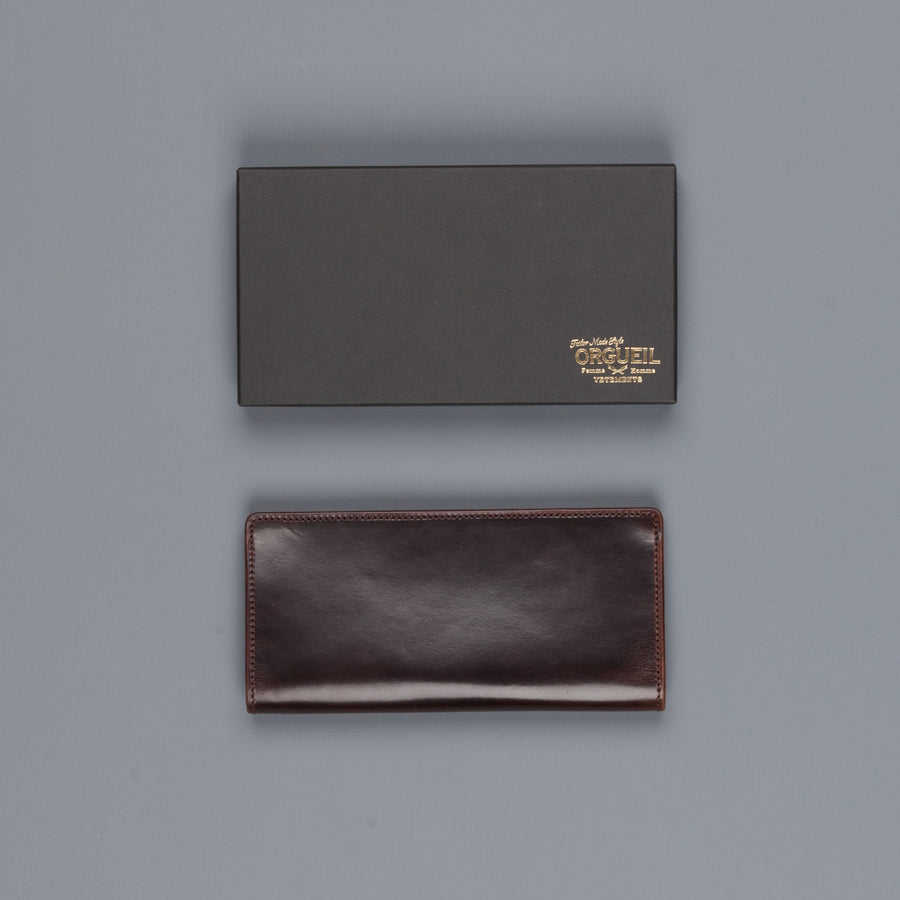 Orgueil Or-7038 Long  Wallet Brown