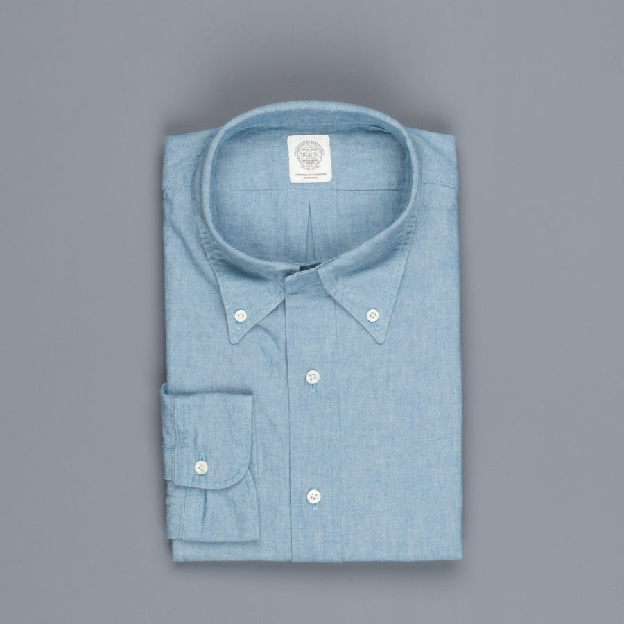 Orgueil OR 5026 chambray button down shirt
