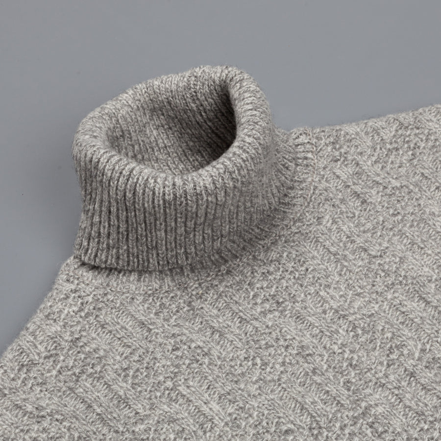 Orgueil turtle neck sweater or-4123 Grey