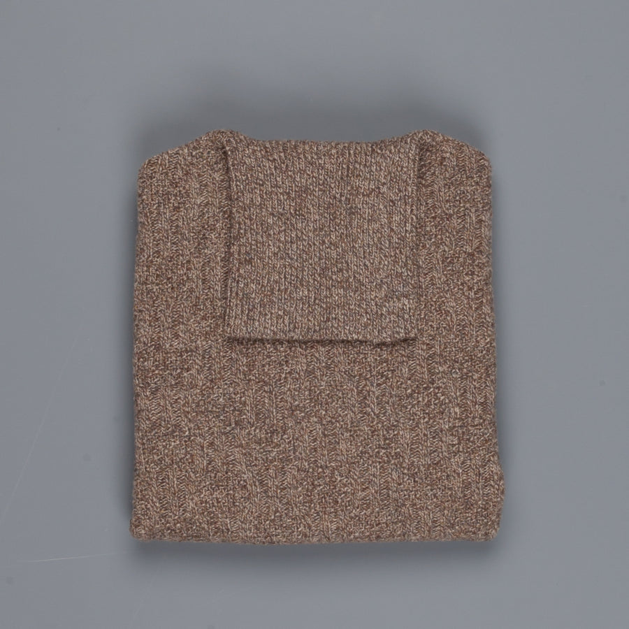 Orgueil turtle neck sweater or-4123 Brown