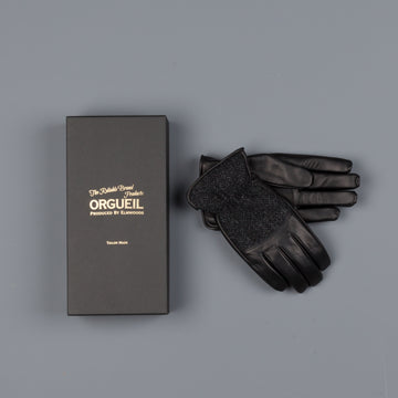 Orgueil leather gloves OR-7108 Black