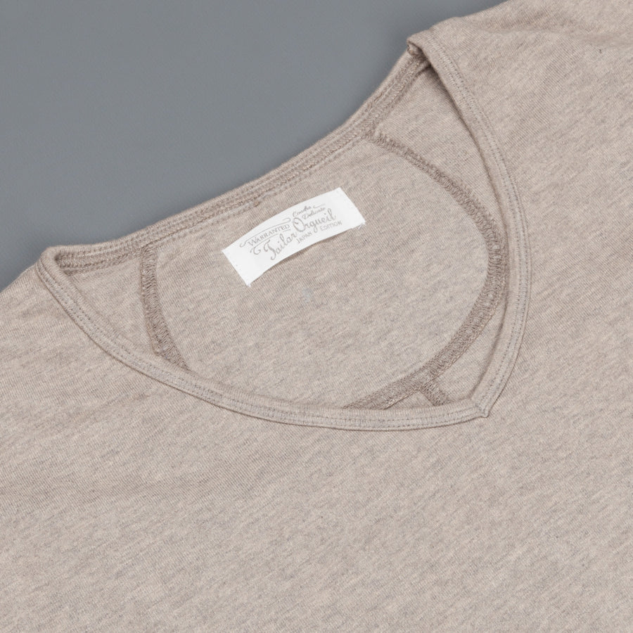 Orgueil OR-9016 Suvin V neck tee Grey