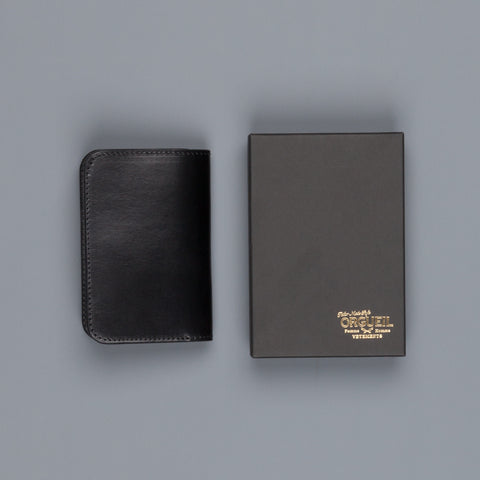 Orgueil Or-7055 Middle Wallet Black