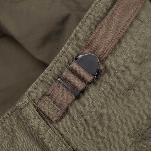 Orslow 6 pocket cargo pants in army rip stop