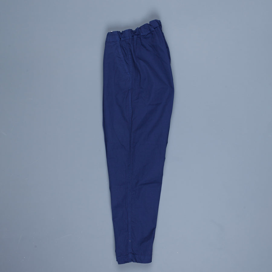 Orslow FB Exclusive Heavy Poplin Easy Pants French Blue