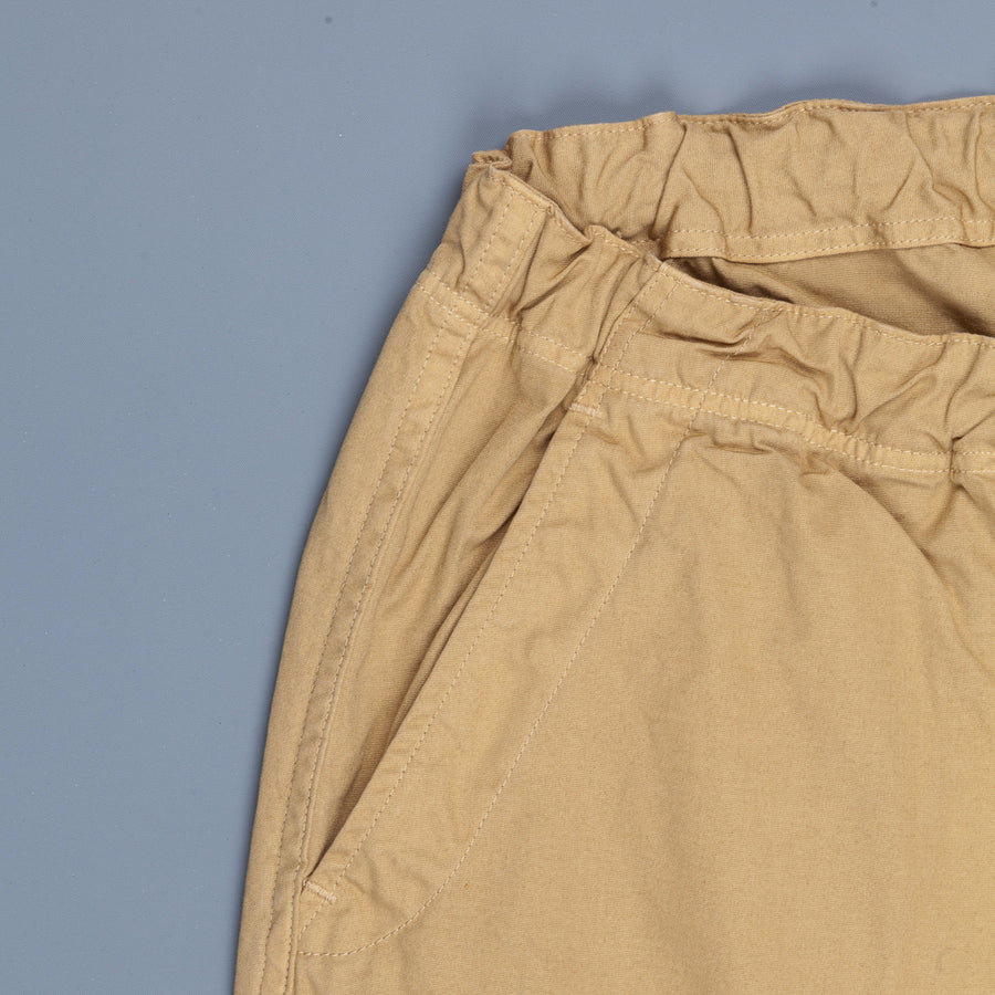 Orslow FB Exclusive Heavy Poplin Easy Pants Khaki