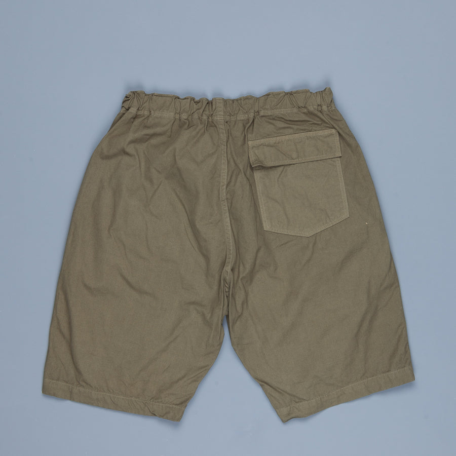 Orslow FB Exclusive Heavy Poplin Easy Shorts Army