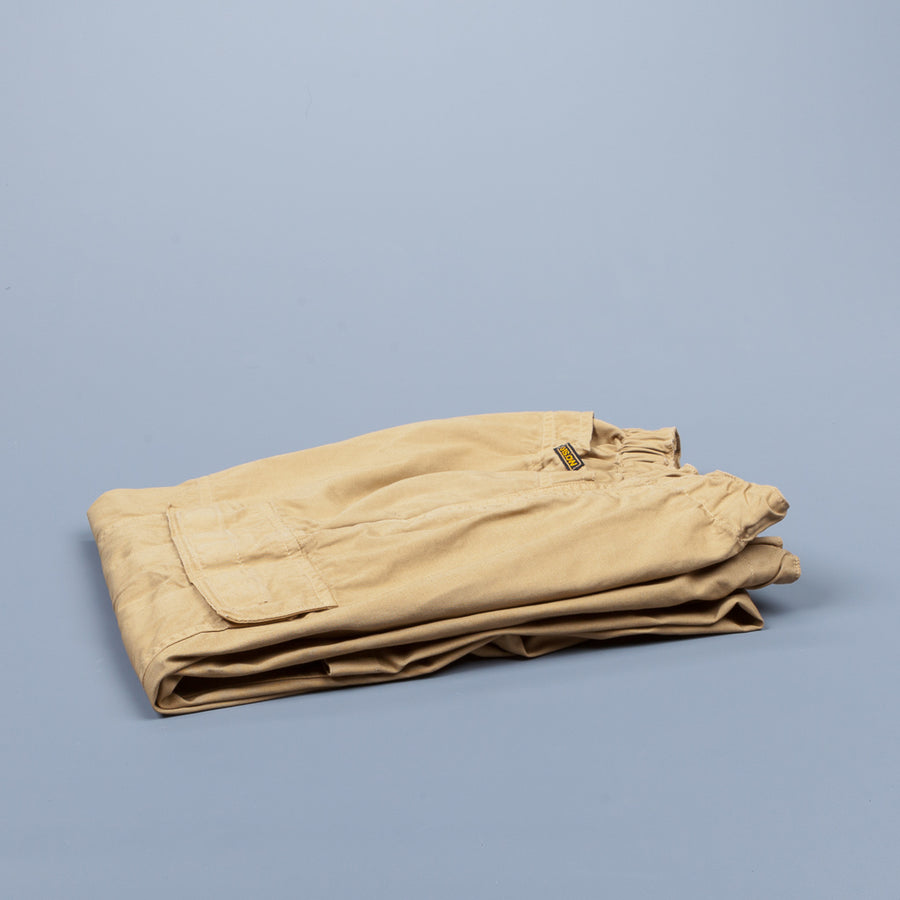 Orslow FB Exclusive Easy Cargo Pants Khaki