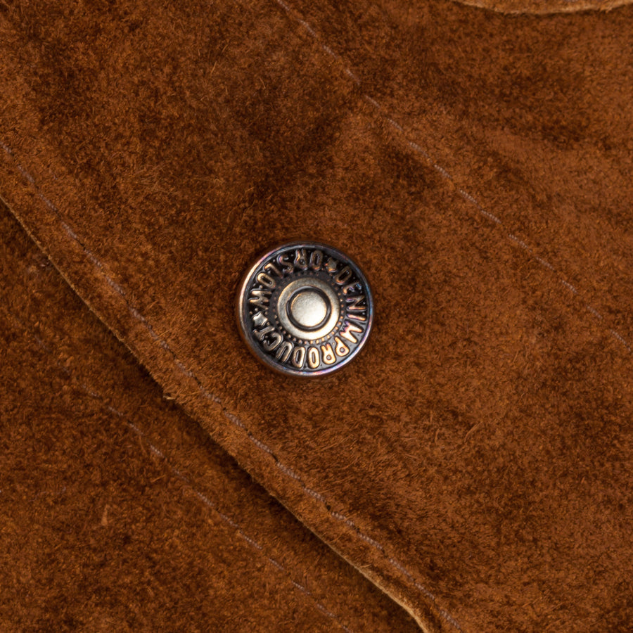 Orslow Utility Coverall Brown Suede