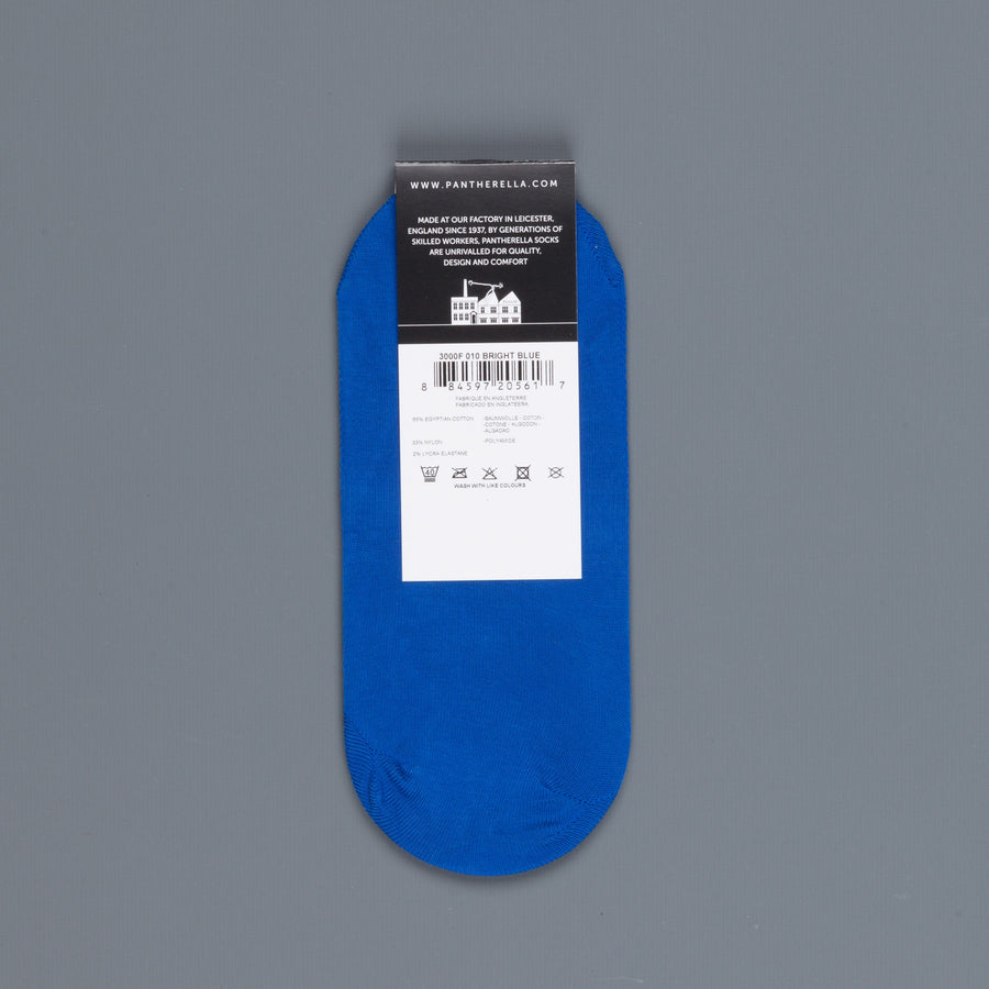 Pantherella Footlet Socks Bright Blue