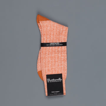 Pantherella Hamada Linen cotton Copper socks