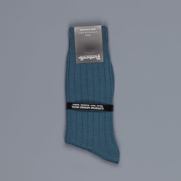 Pantherella Packington Merino wool socks Teal