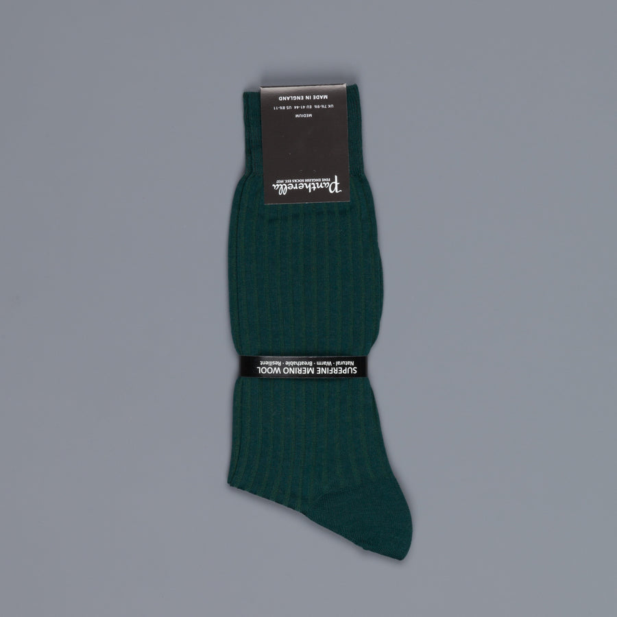 Pantherella Laburnum merino wool ankle high socks Tartan