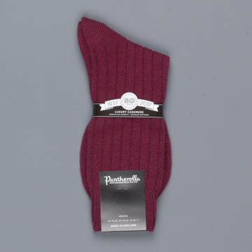 Pantherella Waddington  cashmere socks Port