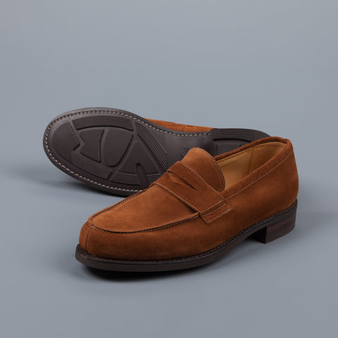 Paraboot Dax/Galaxy Fine Marron Vel Miel Loafer