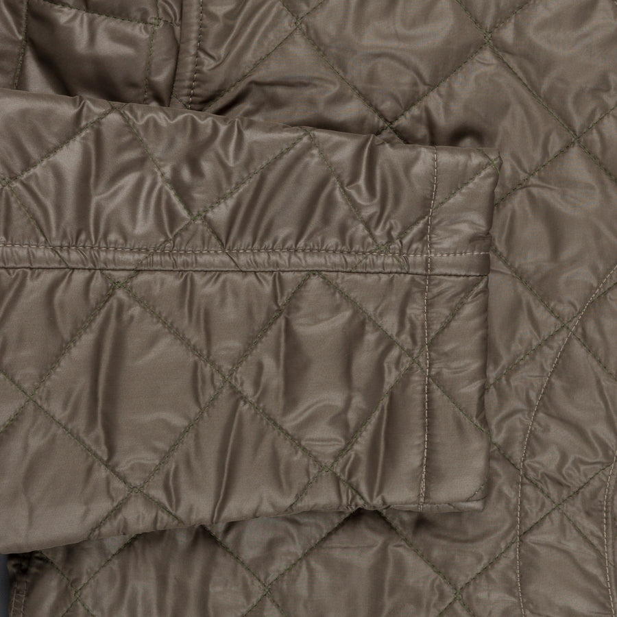 Post o'Alls Royal Traveller Shirt quilted nylon taffeta Olive