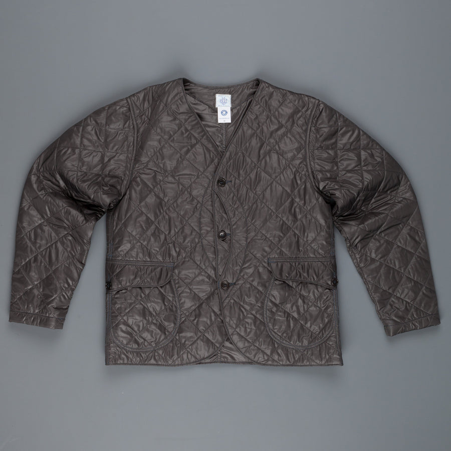Post o'Alls Royal Traveller Shirt quilted nylon taffeta Grey