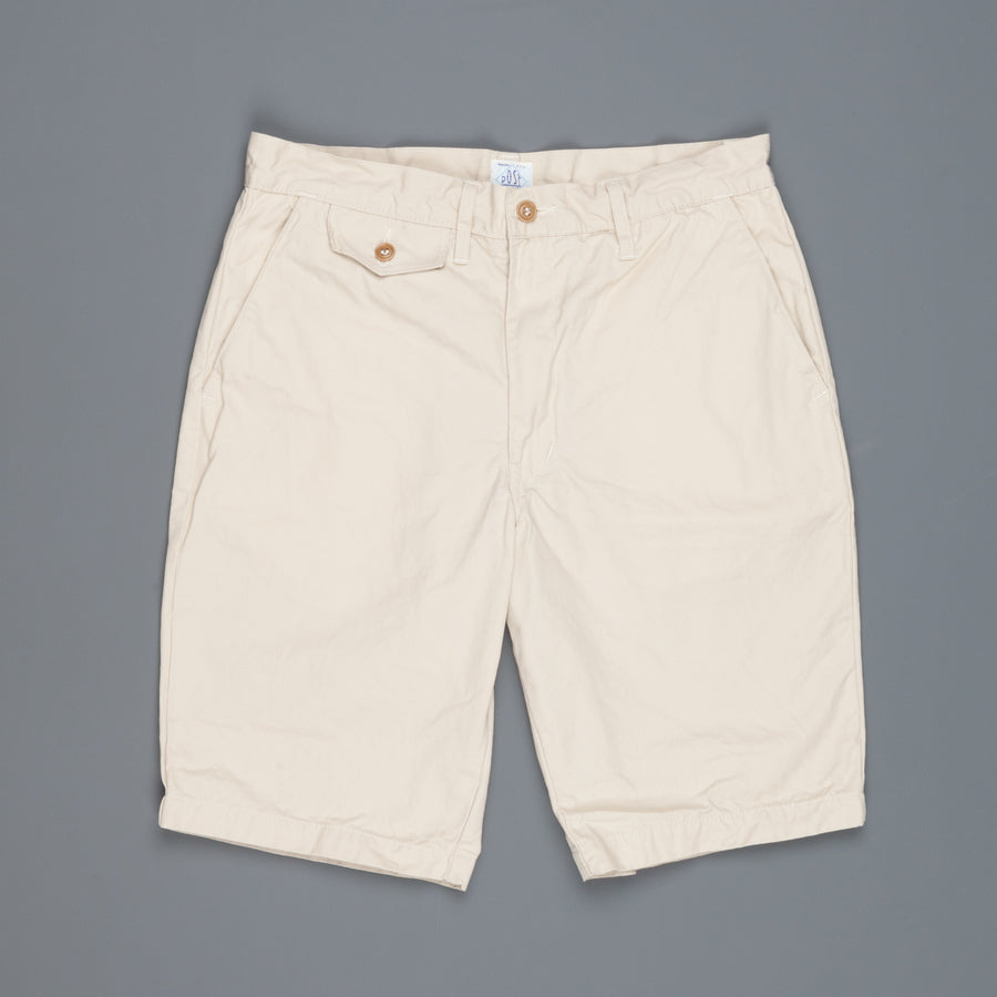 Post O 'Alls Menpolini shorts mid weight poplin Stone