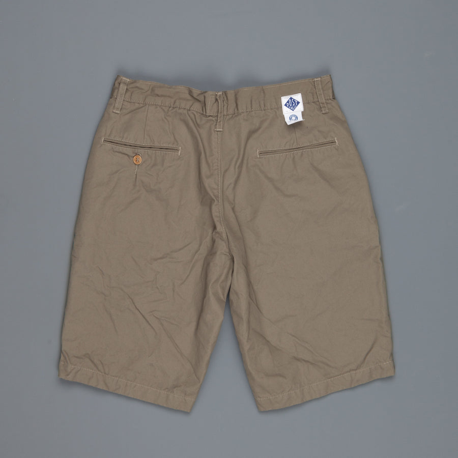Post O 'Alls Menpolini shorts mid weight poplin Olive