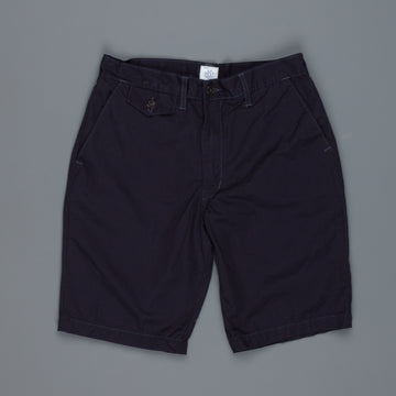 Post O 'Alls Menpolini shorts mid weight poplin navy