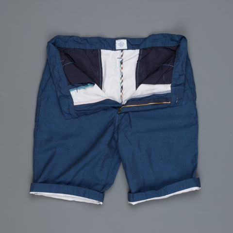 Post O'Alls Lined Menpolini Shorts soft cotton navy