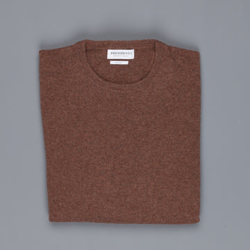 President's Crew Neck Washed Wool Rock