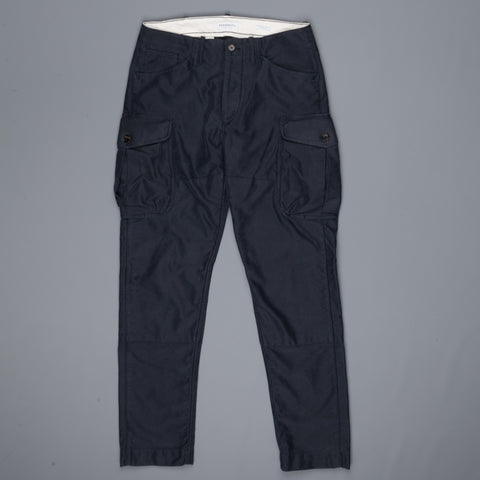 President's Mission Trousers in Washed Satin Blue