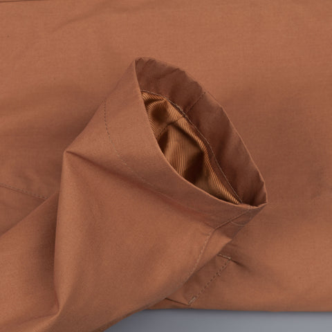 Private White unlined ventile mac Cinnamon