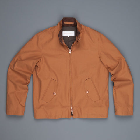 Private White New Harrington jacket Cinnamon