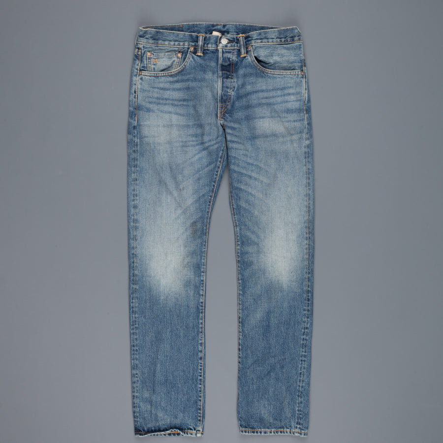 RRL Slim-Fit Selvedge Denim in Billings Wash