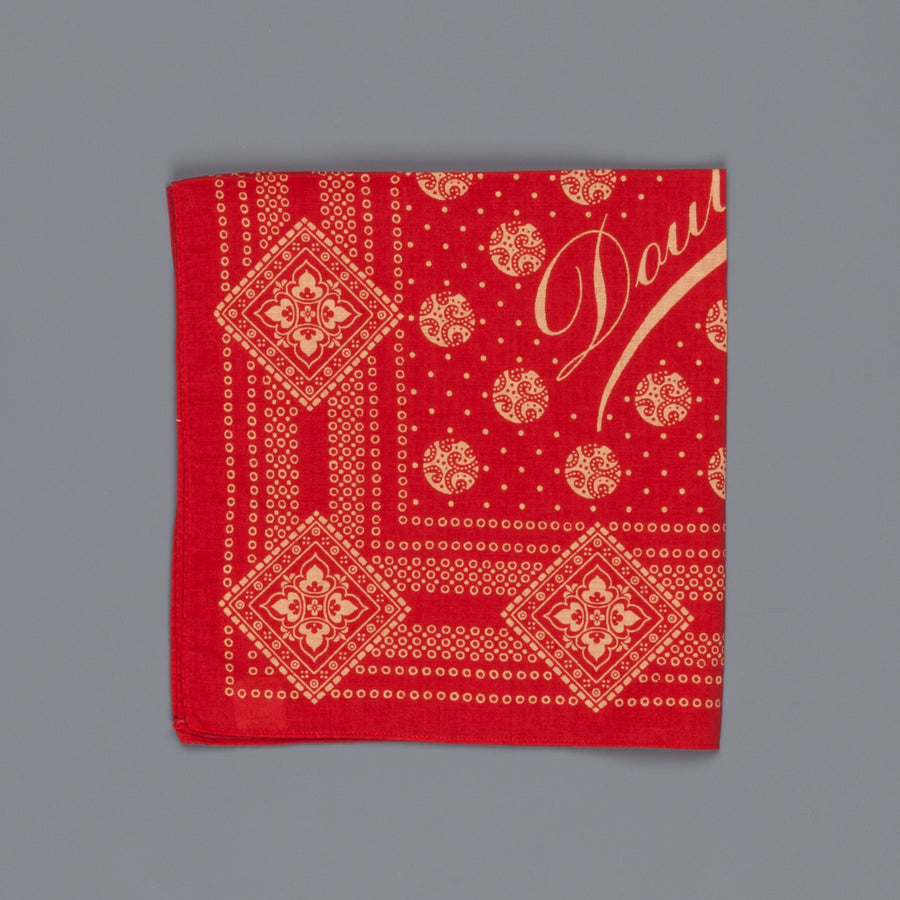 RRL Bandana Faded Red