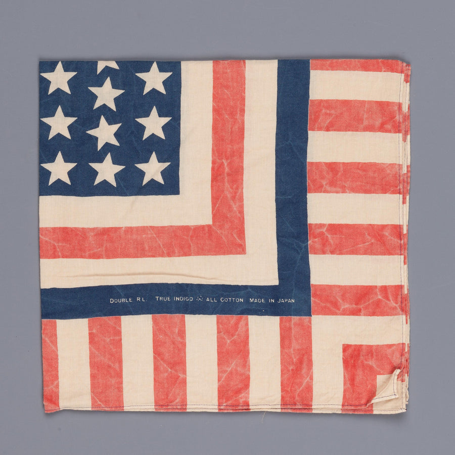 RRL Cotton Bandana Patriotic print