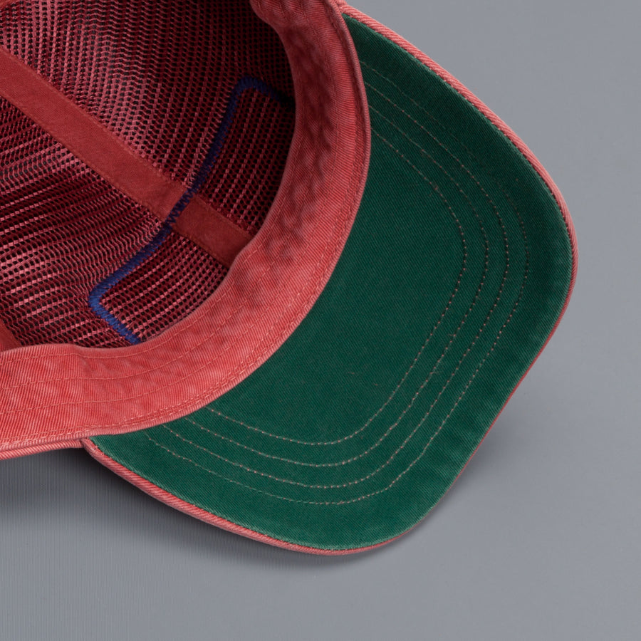 RRL Garment Dyed Trucker cap Faded Red