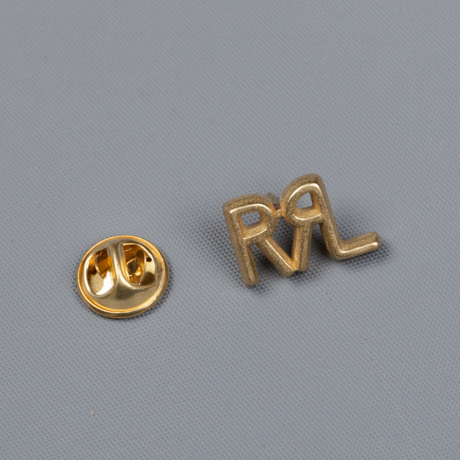 RRL enameled brass pin