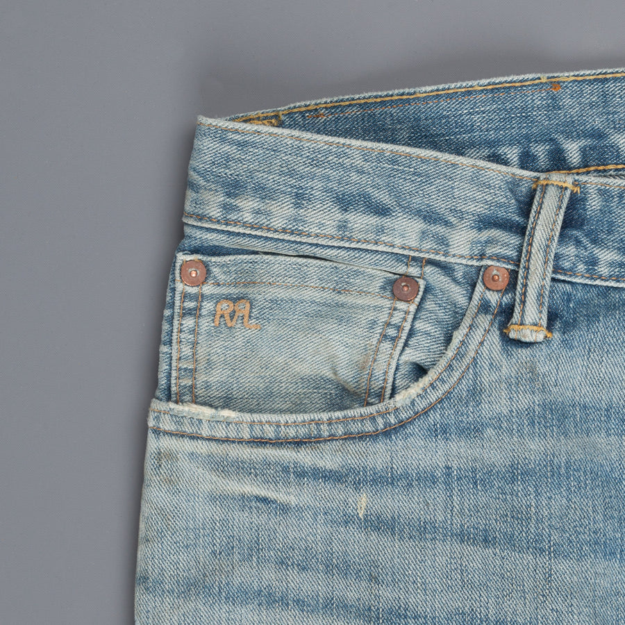 RRL Slim Narrow 3x1 Ridgeway Denim Camden Wash