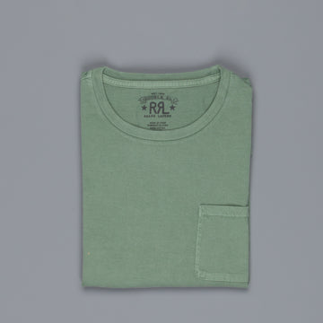 RRL  short sleeved pocket tee Heartland Green