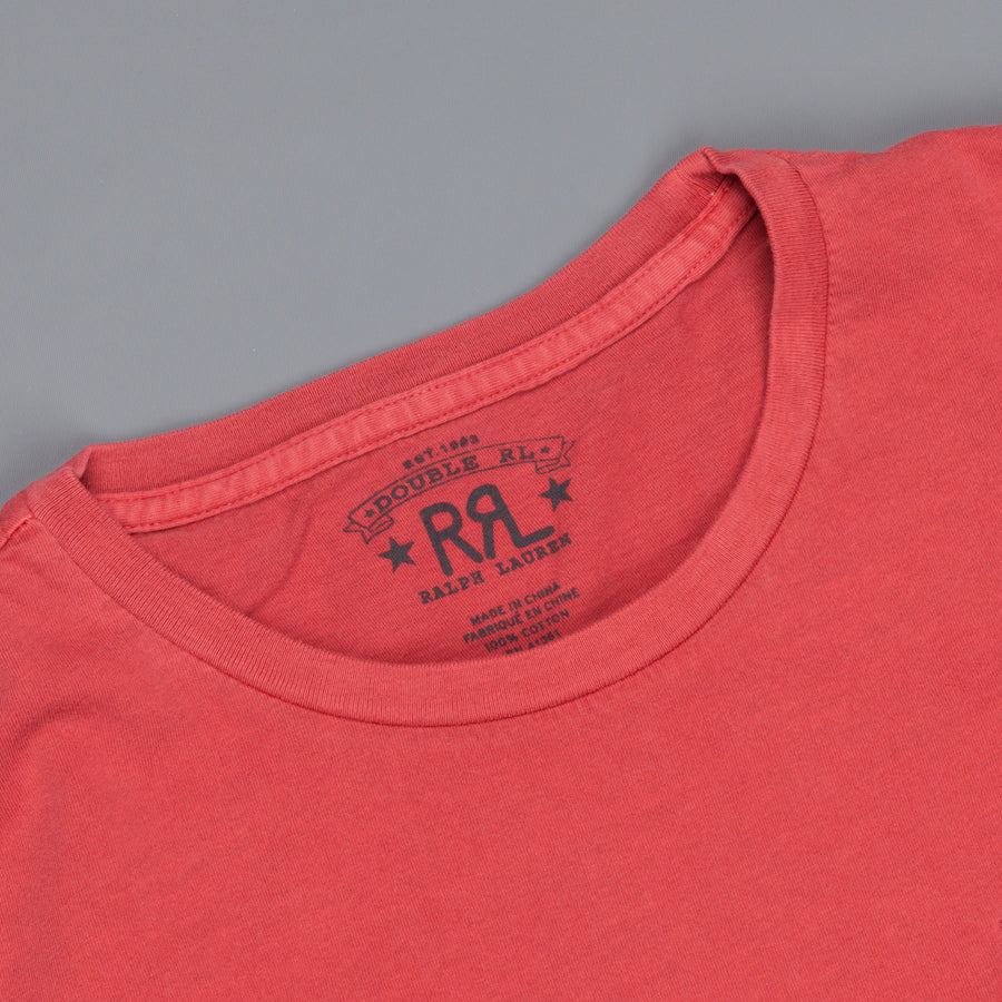 RRL  short sleeved pocket tee heartland red