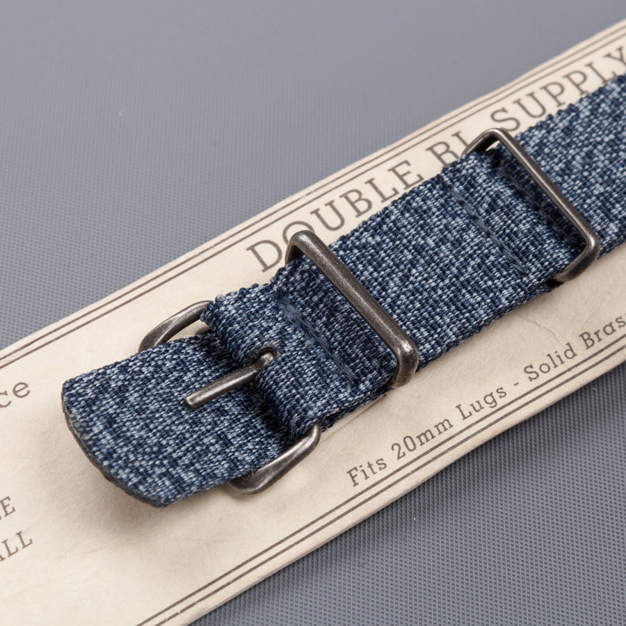 RRL Watch strap Dark Navy Jaspe