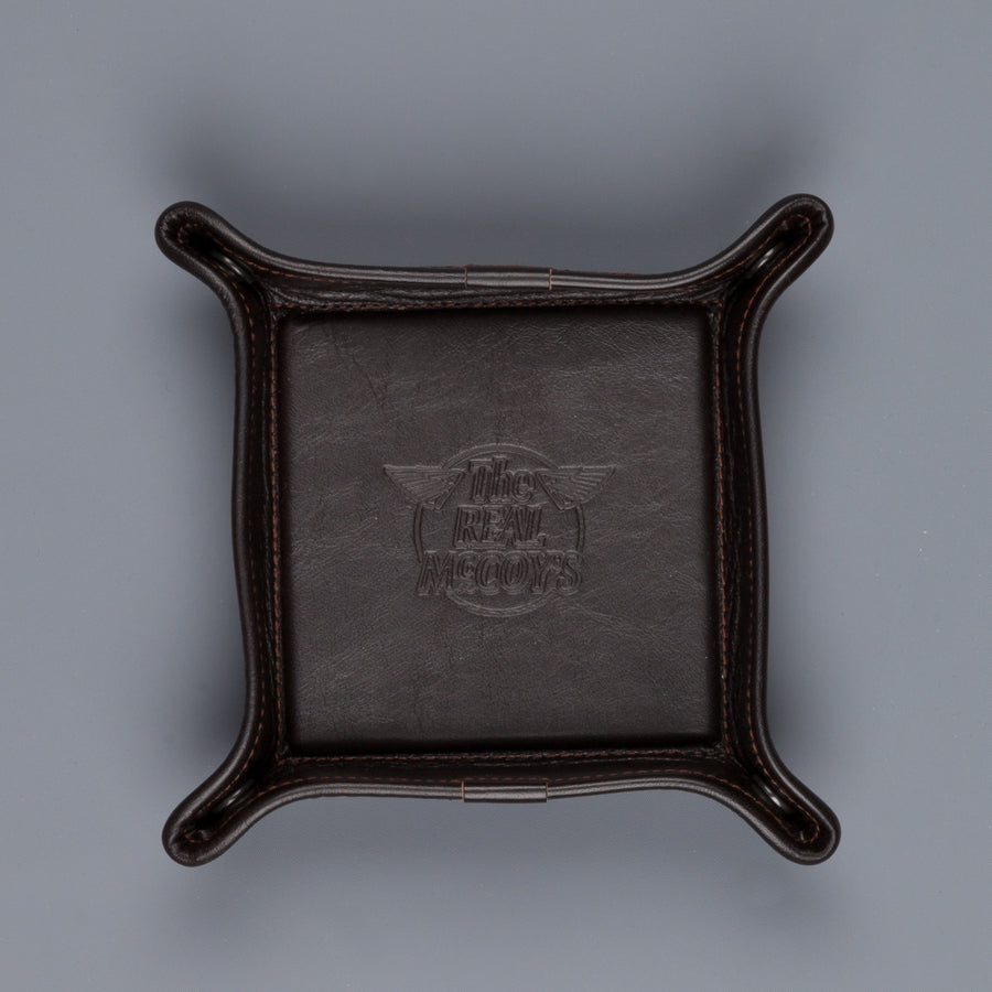 The Real McCoy's Horsehide Coin tray