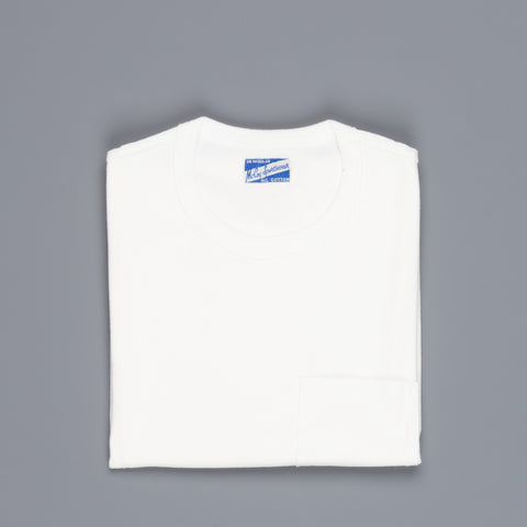 The Real McCoy's Joe McCoy Pocket Tee White