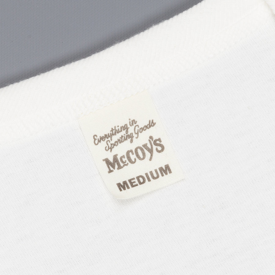Real McCoy's 2 pack crew neck tee white
