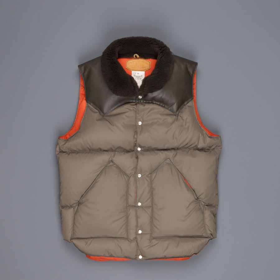 Rocky Mountain Featherbed Christy vest Olive Frans Boone Store Exclusive