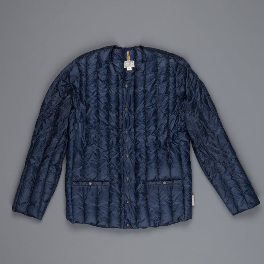 Rocky Mountain Featherbed Six Month Cardigan Navy