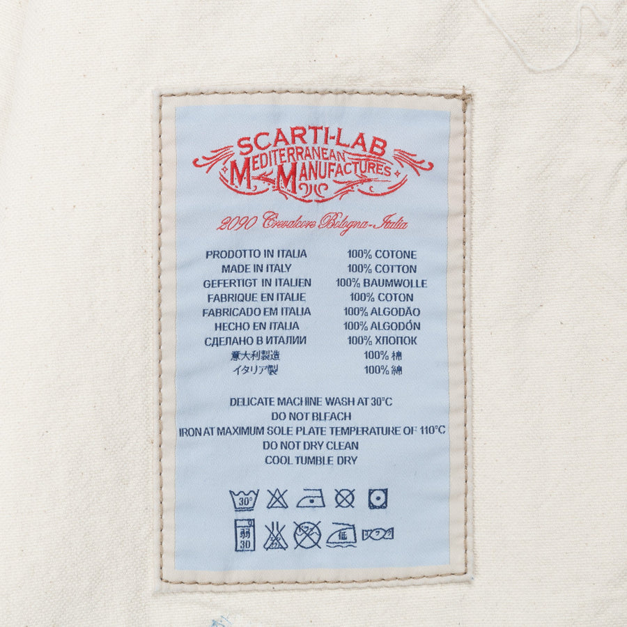 Scartilab model 405 shirtjacket patchwork